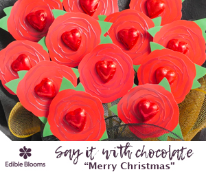 Say it with Chocolate - Merry Christmas